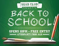 Back to School - Flyer
