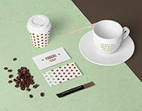 Coffee Stationery Mock-Up