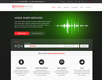 Voice Over Website Template