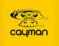 Cayman, logo design