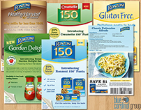 Ebro Pasta Coupon/Recipe Handouts