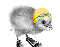 PatoPollo para Concurso Ilustratour 2014