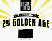 T.V.s Second Golden Age Infographic