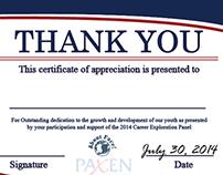 Paxen About Face Program Certificate