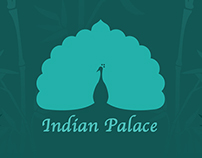 Indian Palace Restaurant identity an web-site