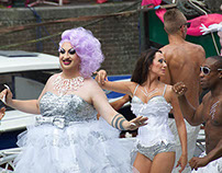 Amsterdm Gaypride Canalparade 2014