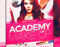 Makeup Course Flyer Template