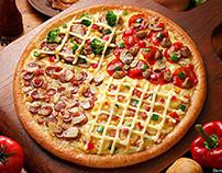 Pizza Time! Sample Web Design