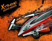 Xtreme Drone Racing PS4 (R&D and Wireframes)