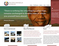 Nelson Mandela Museum - Responsive Website and App