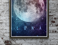 Luna & Sol Pósteres – Graphic Design [2014]