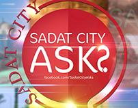 Sadat City Asks - Cover Design