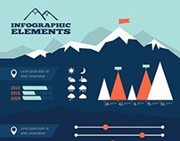 Travel Infographic Elements