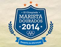 Logo Olimpíadas - Centro Social Marista Dourados