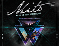 MITS - Music In Trip Sensations - Flyer