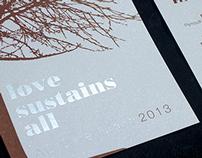 Love Sustains All Invitation