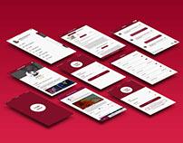 Service Exchange IOS App Design – Free PSD Download