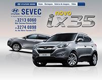 Hotsite Hyndai IX35 - Grupo Servopa