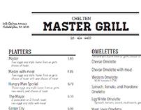 Mastergrill Restaurant Menu