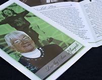Dorothy Klingele Funeral Program