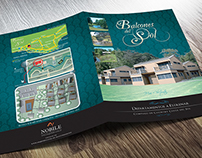 Brochure for vacations house