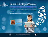 Apple ITUNES U - Colégios Maristas