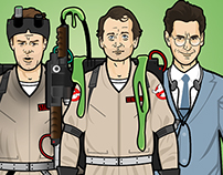 Ghostbusters 30th Anniversary Paper Dolls