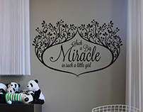 Wall stickers for Cut it out