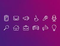 Icon Set - Jornal Pioneiro