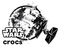 Star Wars Limited Edition Packaging for Crocs