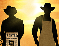 SocialMedia Illustration - Butch Cassidy & Sundance Kid