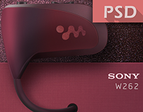 SONY Walkman W262 - my player - [ICON-PSD]