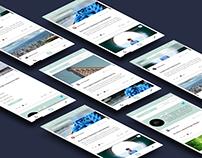 Mockup Blogging App