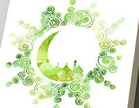 Idul Fitri Greeting Card