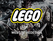LEGO® Website Redesign