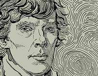 Sherlock Van Gogh - a Cumberbatch portrait