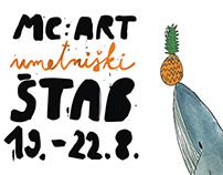 Poster for ART ŠTAB - Workshop