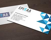 EPIXAA FILM : Logo Design & Business Card