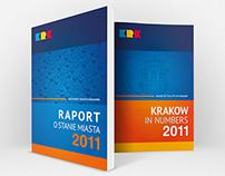Krakow w liczbach 2011 & Raport o stanie miasta 2011