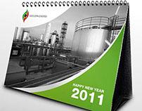 Geodipa Energy | Calendar Design