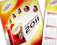 Bioactiva | Calendar Design