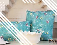 B-Goods 'Hotel del Loco' Cushions