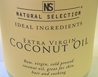Coconut Oil Label Design
