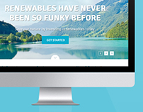 Renewables Website Design