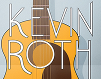 Kevin Roth gig poster