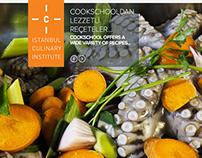 Istanbul Culinary Institude web site design
