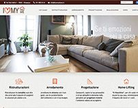 Website Restyiling - I Love My Home