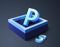 Adobe App Icon 3D