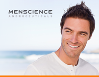 Menscience website design