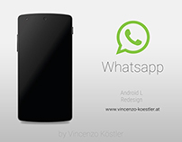 Whatsapp | Material Design